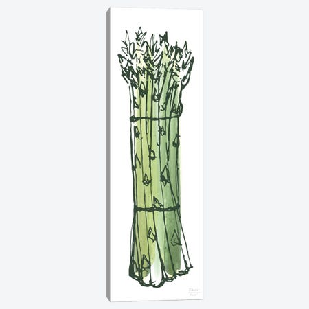 Asparagus Bundle Canvas Print #SGD97} by Statement Goods Canvas Art