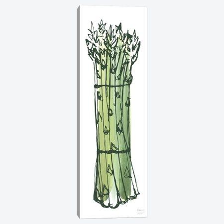 Asparagus Bundle Canvas Print #SGD97} by Statement Goods Canvas Art