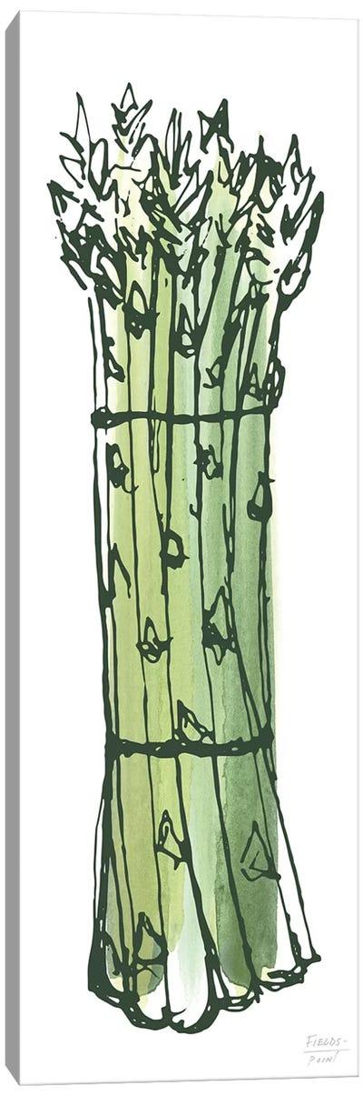 Asparagus Bundle Canvas Art Print