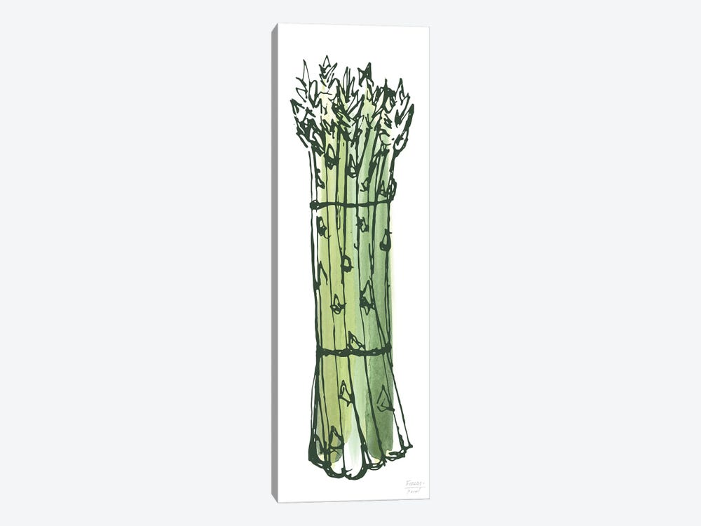 Asparagus Bundle by Statement Goods 1-piece Canvas Print