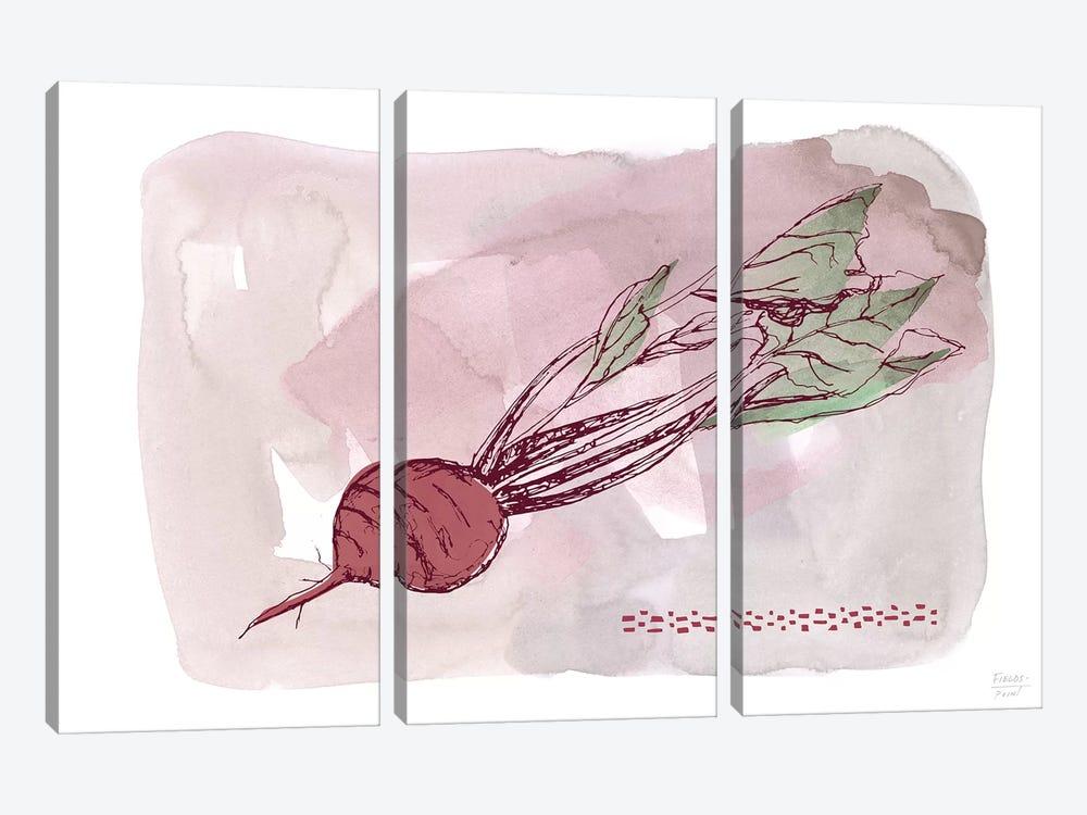 Beet by Statement Goods 3-piece Art Print