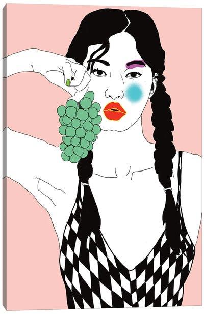 Grapes Canvas Art Print