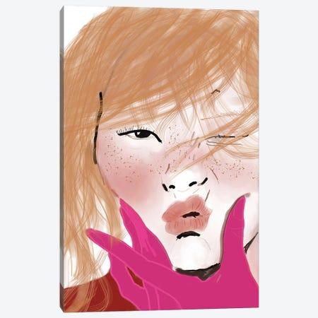 Lips Canvas Print #SGE29} by Ana Sneeringer Canvas Art Print
