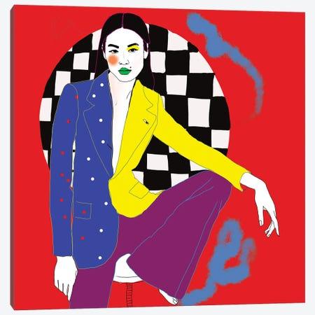 Auggie Canvas Print #SGE2} by Ana Sneeringer Canvas Artwork