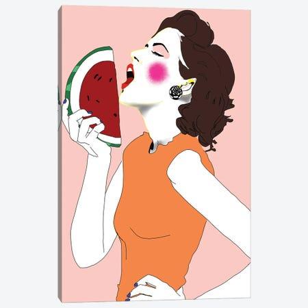 Watermellon Canvas Print #SGE48} by Ana Sneeringer Canvas Print