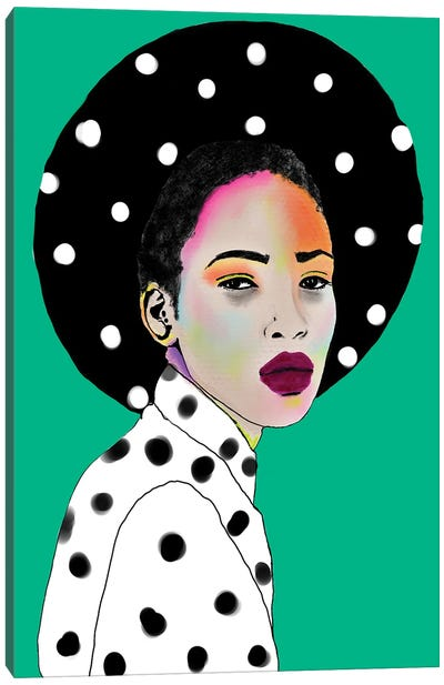 Dot On Dot Day Canvas Art Print