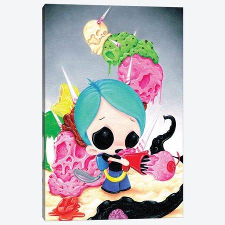 Protector Canvas Print #SGF105} by Sugar Fueled Canvas Artwork