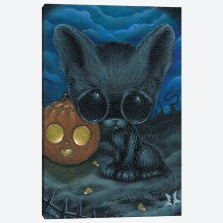 Sadderday Canvas Print #SGF110} by Sugar Fueled Canvas Art