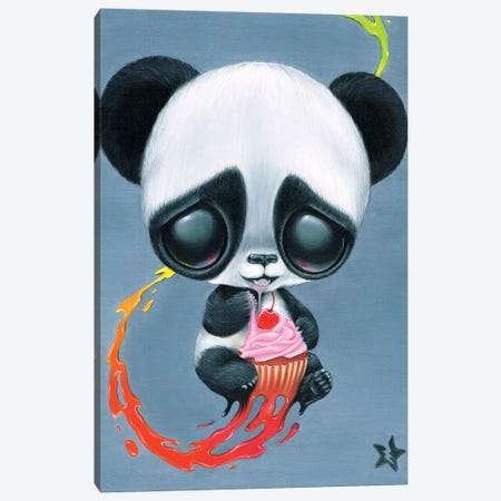 Seized And Devoured Canvas Print #SGF115} by Sugar Fueled Canvas Print