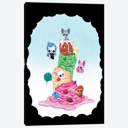 Seven Sweets Canvas Print #SGF116} by Sugar Fueled Art Print