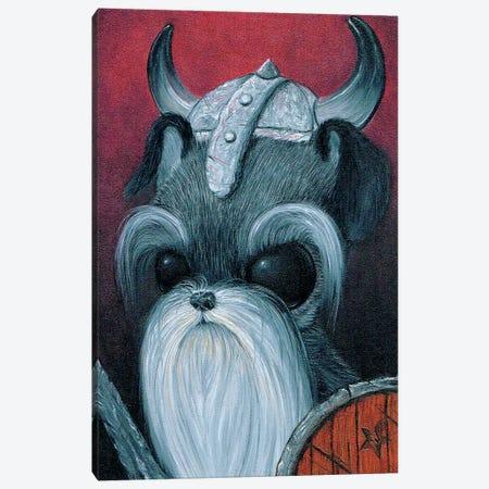 Sir Schnauzer Heim Canvas Print #SGF118} by Sugar Fueled Canvas Art