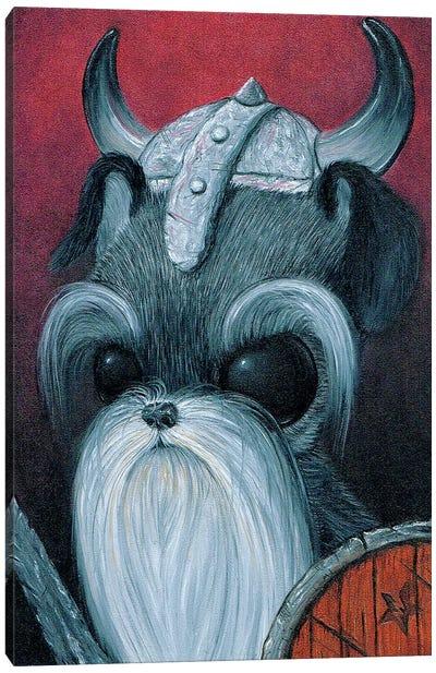 Sir Schnauzer Heim Canvas Art Print