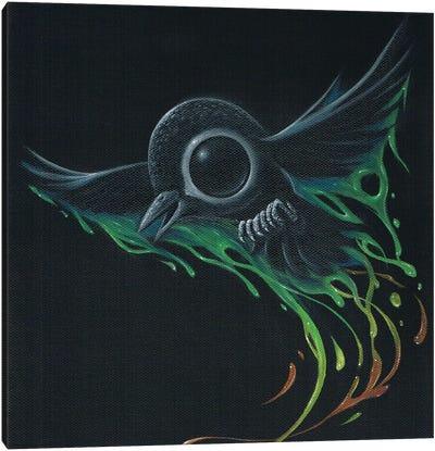 Black As Pitch Canvas Art Print