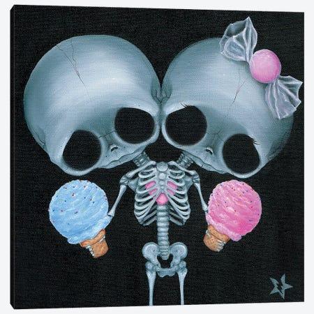 Sugar Twins Canvas Print #SGF128} by Sugar Fueled Canvas Print