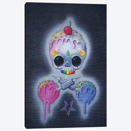 Sweet Tats Canvas Print #SGF133} by Sugar Fueled Canvas Art
