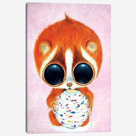 Taking It Slow Canvas Print #SGF136} by Sugar Fueled Canvas Print