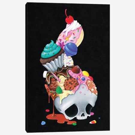 Till Death Do Us Part Canvas Print #SGF142} by Sugar Fueled Art Print