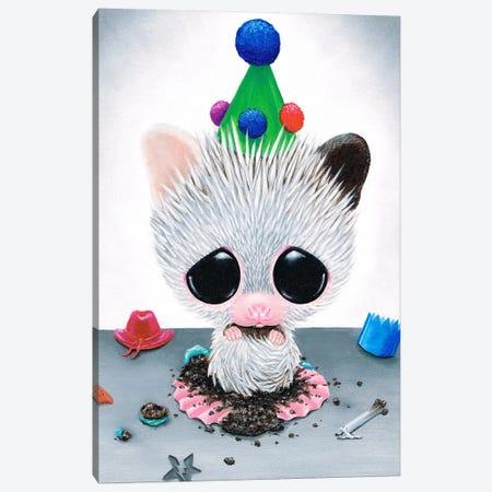 What Cupcake Canvas Print #SGF149} by Sugar Fueled Canvas Art Print