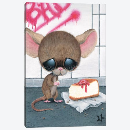 Who's Bad Canvas Print #SGF150} by Sugar Fueled Canvas Art