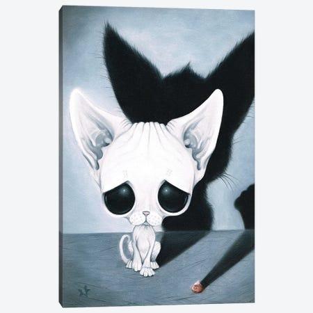 Chasing Shadows Canvas Print #SGF16} by Sugar Fueled Canvas Artwork