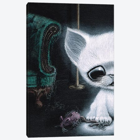 Clawvoyant Canvas Print #SGF20} by Sugar Fueled Canvas Art