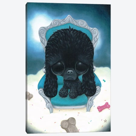 Cole Canvas Print #SGF22} by Sugar Fueled Canvas Artwork