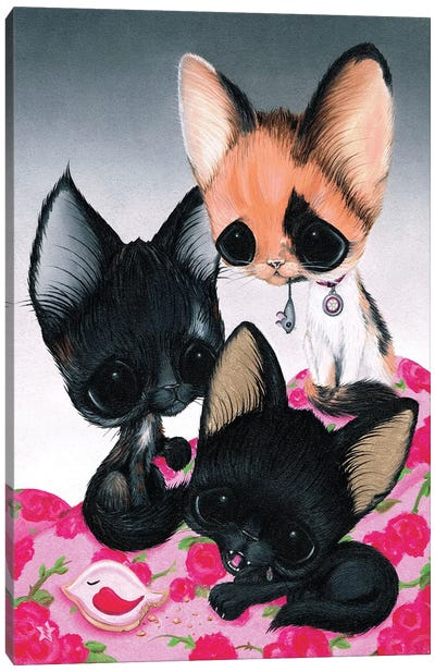 Cous Cous, Mipsy, And Chibi Canvas Art Print