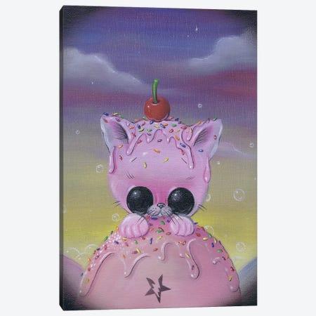 Curious Canvas Print #SGF25} by Sugar Fueled Art Print