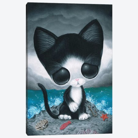 Curiousity Canvas Print #SGF26} by Sugar Fueled Art Print