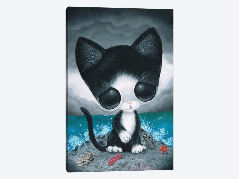 Curiousity by Sugar Fueled 1-piece Canvas Artwork