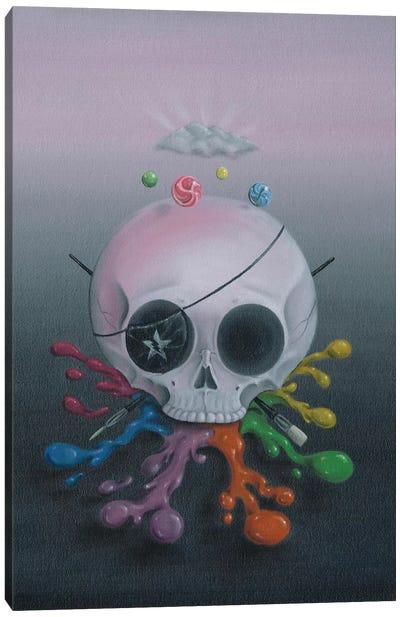Dead Men Tell Tall Tales Canvas Art Print