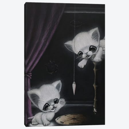 Feral Phantasmagoria Canvas Print #SGF51} by Sugar Fueled Art Print