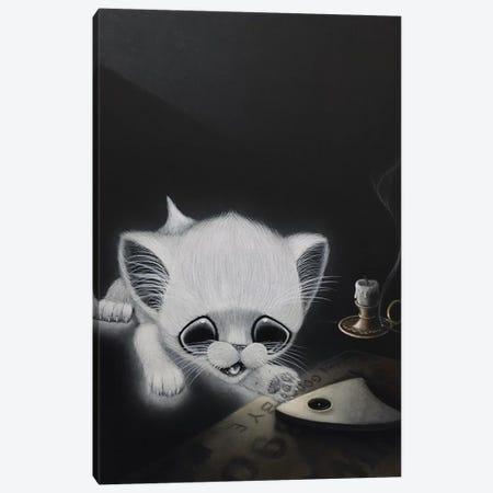 Goodbye Familiar Canvas Print #SGF55} by Sugar Fueled Canvas Wall Art