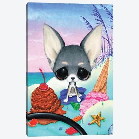 Guava Jelly Canvas Print #SGF56} by Sugar Fueled Canvas Artwork