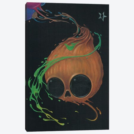 I Remember Halloween Canvas Print #SGF67} by Sugar Fueled Art Print