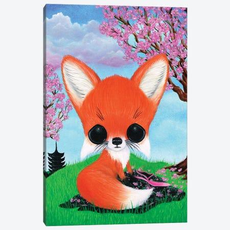Kitsune Canvas Print #SGF76} by Sugar Fueled Canvas Art