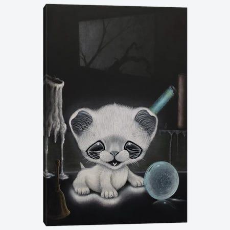 Meownifestation Canvas Print #SGF87} by Sugar Fueled Art Print