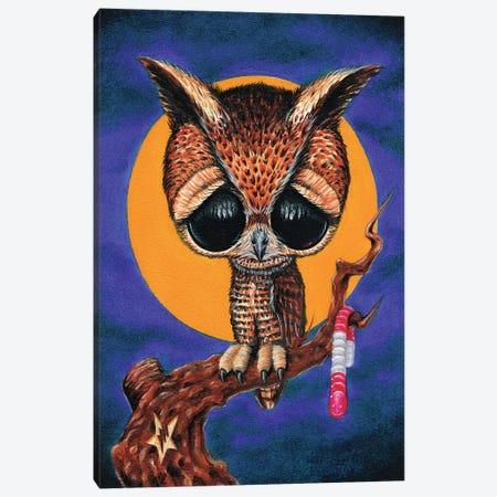 Night Shift Canvas Print #SGF89} by Sugar Fueled Canvas Wall Art