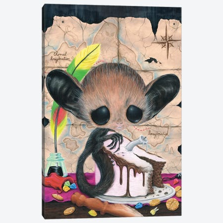 Aye Aye Captain Canvas Print #SGF8} by Sugar Fueled Art Print