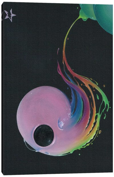 Off The Deep End Canvas Art Print