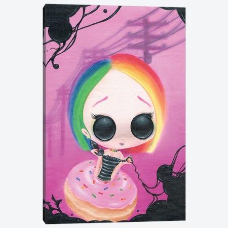 Pagin Mr Rainbow Canvas Print #SGF97} by Sugar Fueled Canvas Art