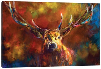 Benign Watchfulness Canvas Art Print