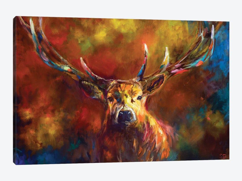 Benign Watchfulness by Sue Gardner 1-piece Canvas Print