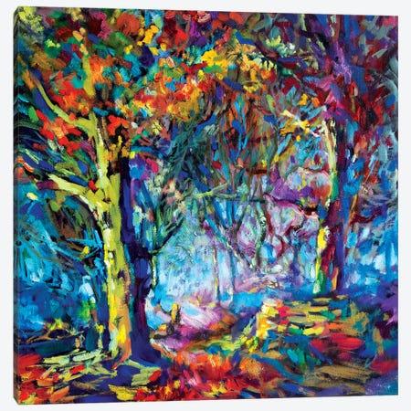 Hilltop Walk Canvas Print #SGN16} by Sue Gardner Canvas Artwork
