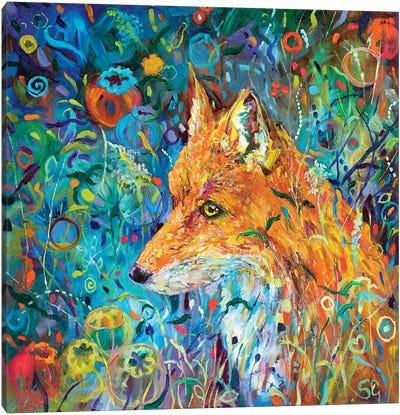Poppyseed Fox Canvas Art Print