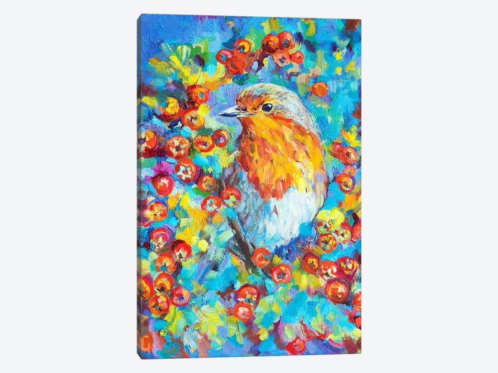 Hawthorn Robin by Sue Gardner 1-piece Art Print