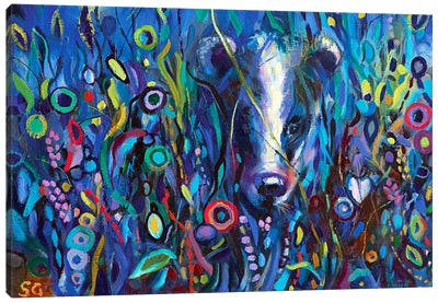 Moonlight Masquerade Canvas Art Print