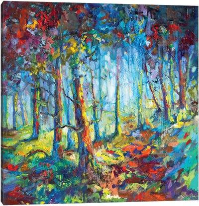 Woodland Walk Canvas Art Print