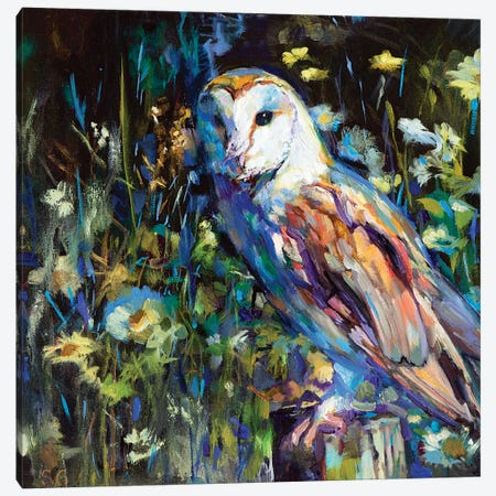 Evening Haunt Canvas Print #SGN25} by Sue Gardner Art Print