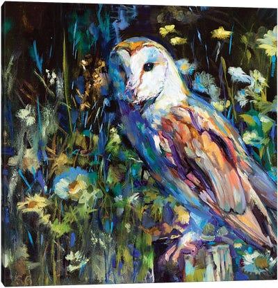 Evening Haunt Canvas Art Print